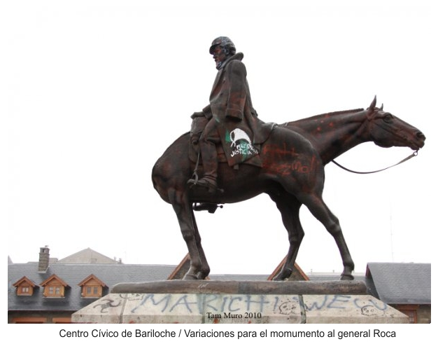 general roca statue